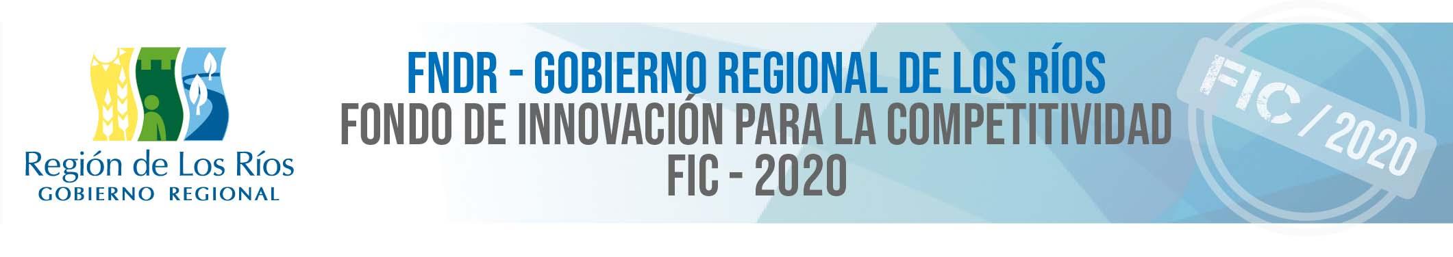 FIC 2020 – GORE de Los Ríos