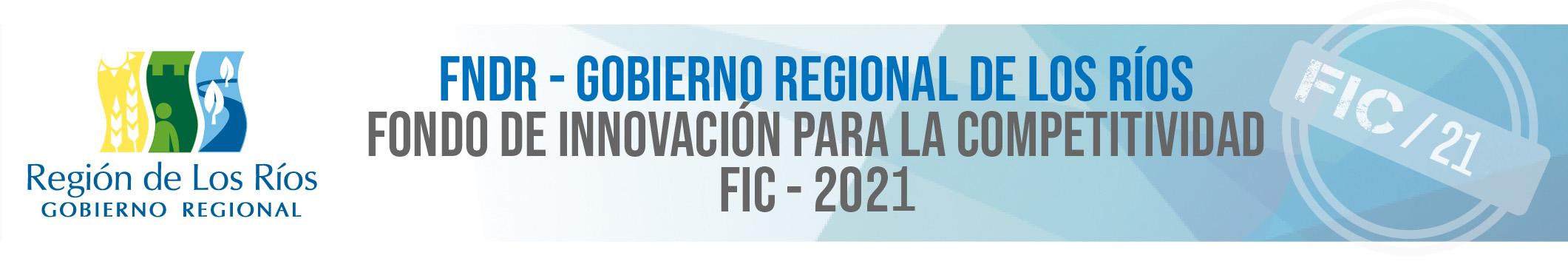 FIC 2021 – GORE de Los Ríos